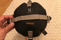 Vuokrataan (yö): Haglöfs Nomad -makuupussi