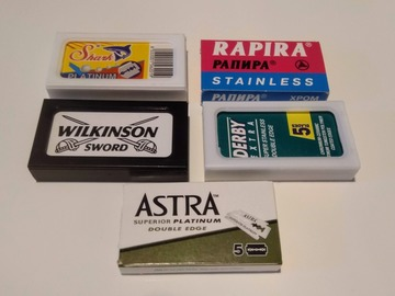 Annetaan: Giving away (or swapping) double edge safety razor blades