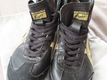 Selling with online payment: Onitsuka Tiger high top trainers