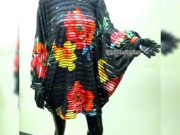 Selling with online payment: Rainforest Kaftan Dress