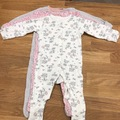 Selling with online payment: Bundle of baby grows, age 3-6 Mths