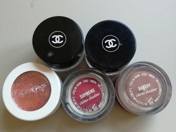 Venta: Sombras en crema Chanel, colourpop y nabla