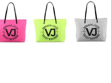 Liquidation Lot: 3 Authentic Versace Jeans Couture Designer Tote Handbags