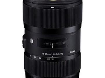 Vermieten: Sigma EF-S 18-35mm F1.8 DC HSM ART