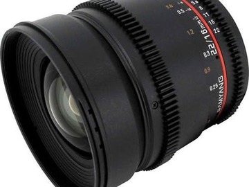 Vermieten: EF 16mm T2.2 Cine