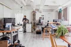 Renting out: Workstation + Studio in Vallila 200€ + ALV