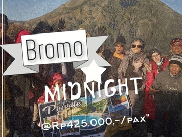 Offering with online payment: Bromo Sunrise