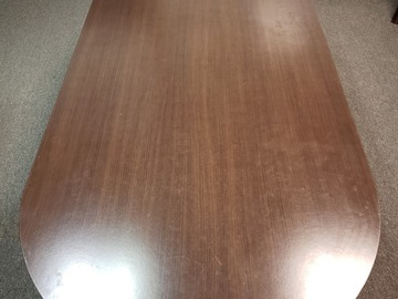 Produkte Verkaufen: Oval Wood Conference Table