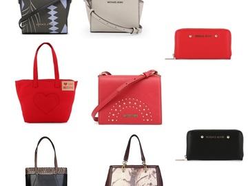 Buy Now: 8 Designer Purse Wallet Lot Michael Kors Versace Moschino Cavalli