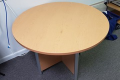 Selling Products: Round Wood Table