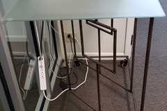 Selling Products: DIRTT Table 05 (Glass and Metal)