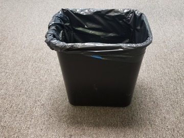 Selling Products: Plastic Recycling Trash Can (Black) (Medium)