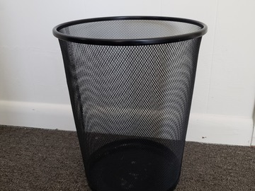 Selling Products: Round Mesh Trash Can (Small)
