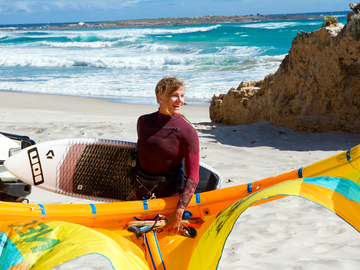 Course & Accomodation: 3 weeks Kite Wave Safari Australia
