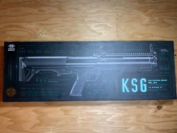 Selling: Tokyo Marui KSG 12 Gas Tri-Shot Shotgun