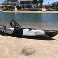 Weekly Rate: Black Camouflage Fishing Kayak