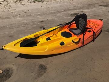 Daily Rate: Sunset Fishing Kayak