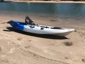 Daily Rate: Ice-cube Fishing Kayak