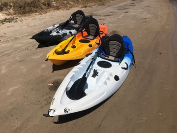 Monthly Rate: 3 x Fishing Kayaks