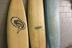 Weekly Rate: 3 x Surfboards