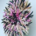 Vente au détail: Juju hat multicolore de 60 cm