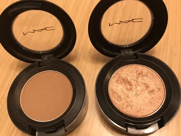 Venta: Sombras MAC WEDGE y ALL DE THAT GLITTERS
