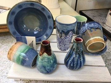 Workshop Angebot (Termine): Keramikmalen