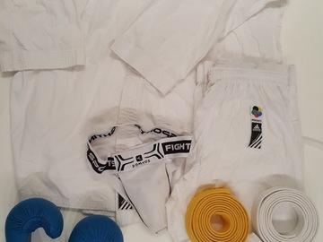 Vente: Kimono kumite Karaté adulte 190 cm Adidas et accessoires