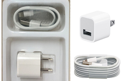 Buy Now: (100) Lightning Cables & Wall Cubes in retail box for iphone
