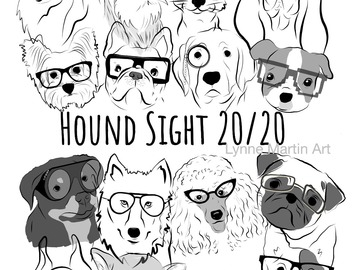 Selling with online payment: Hound Sight is 20/20:Entire Gang Digital Download( .pdf & .jpg )