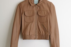 Selling: Beautiful tan leather jacket from Lee Miller