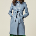 Selling: SOLD Powder blue Leatherette trench