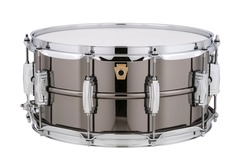 SOLD!: Ludwig Black Beauty 6.5x14 Monroe model NEW w bag