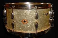 Not So Modern Drummer Article : 1939-41 SLINGERLAND 7 x 14 SILVER SPARKLE HOLLYWOOD ACE MODEL RK