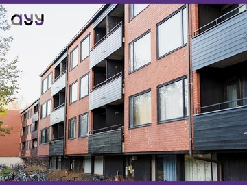 Renting out: Sub-renting a furnished 2 rooms apartment in Otaniemi