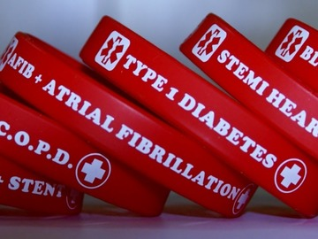 Buy Now: MCI Medical Alert Wristbands