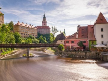 Offering with online payment: Unesco Heritage Fairytale Town: Český Krumlov