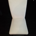 Selling Products: Cushioned Chair (White with Gray Cover)