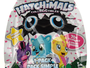 Buy Now: Lot of 300 Spin Master Hatchimals Colleggtibles Packs Season 1