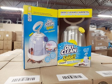 "Buy Now: Lot of 138 OxiClean ""SPLOT"" Carpet Stain Removers - 1 Pallet"