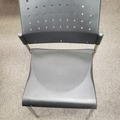 Selling Products: Plastic and Metal Chair with no Rollers (Black)