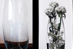 Ilmoitus: Maljakoita, korkeus 26 cm, alkuperäisissä pakkauksissa 5 kpl