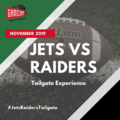 Free Events: Jets vs Raiders Tailgate Experience