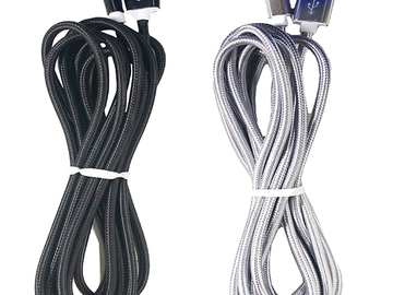 Liquidation Lot: Generic Samsung 10 Ft Braided Cable