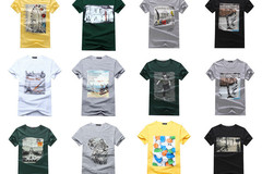 Buy Now: 100,000 pcs Assorted Fashion Men Printing T-shirt MSRP $2,100,000