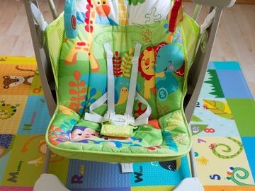 Myydään: Fisher-Price Take Along Swing & Seat