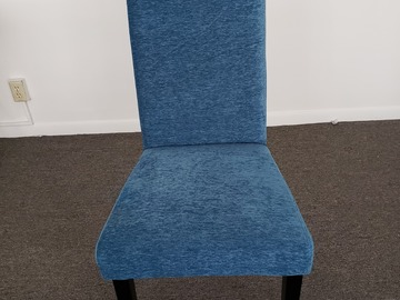 Produkte Verkaufen: Cushioned Chair (Blue)