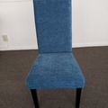 Selling Products: Cushioned Chair (Blue)