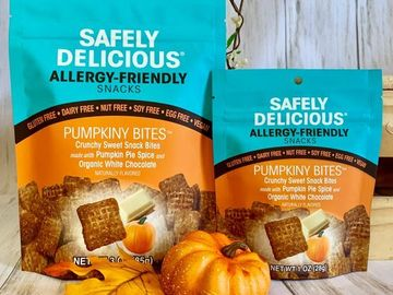 Online Listing: Safely Delicious® Pumpkiny Bites - 3 oz (12 units included)