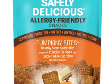 Online Listing: Safely Delicious® Pumpkiny Bites® - 3 oz (12 units included)